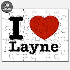 I Love Layne Puzzle