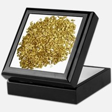 Gold Nuggets Keepsake Box