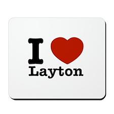 I Love Layton Mousepad