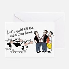 Let's Yodel Greeting Cards (Pk of 10)