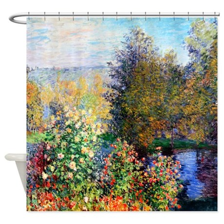 Monet - Montgeron Shower Curtain