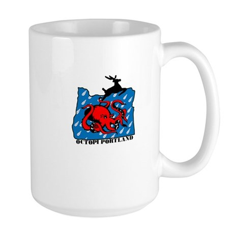 PDX Octopi Large Mug