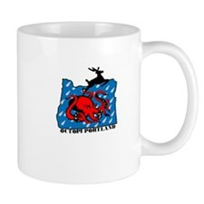 PDX Octopi Mug