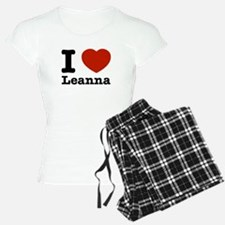 I Love Leanna Pajamas