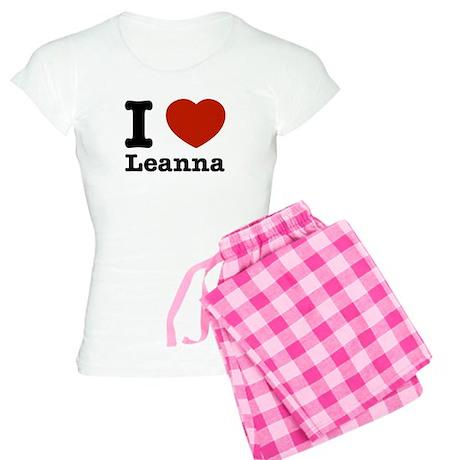 I Love Leanna Women's Light Pajamas