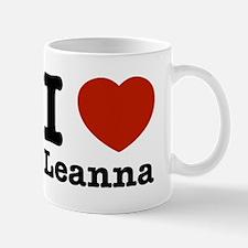 I Love Leanna Mug
