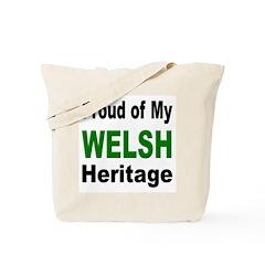 Proud Welsh Heritage Tote Bag