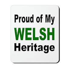 Proud Welsh Heritage Mousepad