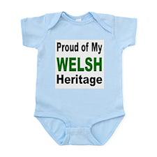 Proud Welsh Heritage Infant Creeper