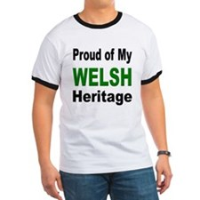 Proud Welsh Heritage (Front) T