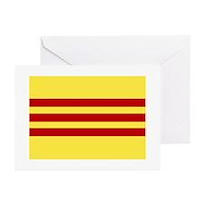 Vietnamese Flag Notecards (10 Pk)