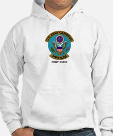 Fort Bliss with Text Hoodie