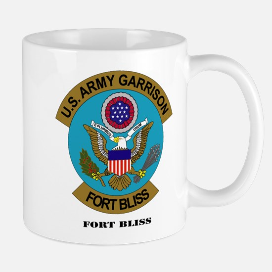 Fort Bliss with Text Mug