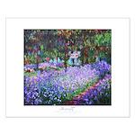 Monet's Garden, small poster