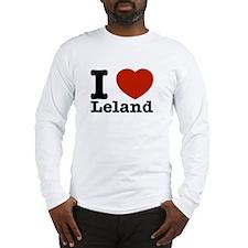 I Love Leland Long Sleeve T-Shirt