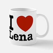 I Love Lena Mug