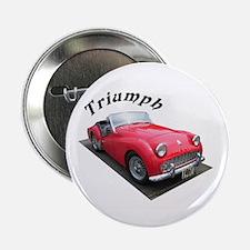 "1961 Triumph Sportscar! 2.25"" Button"