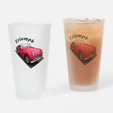 1961 Triumph Sportscar! Drinking Glass