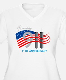 Remembering 911 - 11th Anniversary T-Shirt