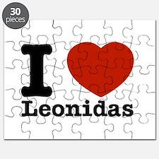 I Love Leonidas Puzzle