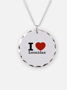 I Love Leonidas Necklace