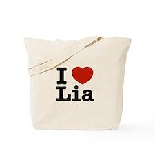 I Love Lia Tote Bag