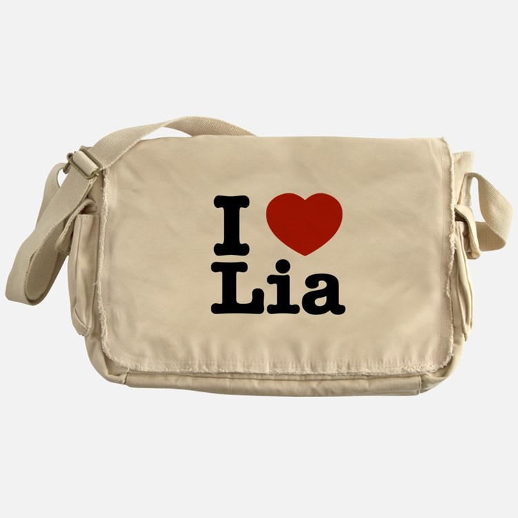 I Love Lia Messenger Bag