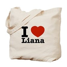 I Love Liana Tote Bag