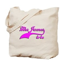 Mrs James to be Tote Bag