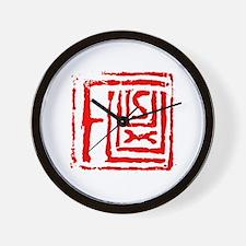 FLUXUS design by Moan Lisa Wall Clock