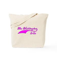 Mrs Washington to be Tote Bag