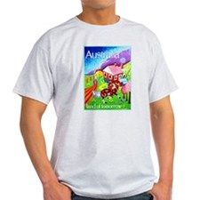 Australia Travel Poster 16 T-Shirt
