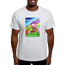 Australia Travel Poster 16 T-Shirt