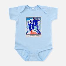 Pacific Northwest Travel Poster 1 Infant Bodysuit