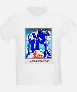 Pacific Northwest Travel Poster 1 T-Shirt