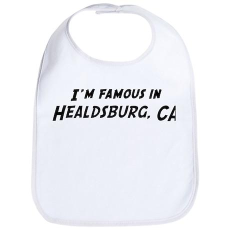 Famous in Healdsburg Bib