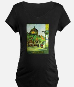 Belgium Travel Poster 1 T-Shirt