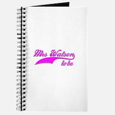 Mrs Watson to be Journal
