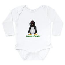 Cute Humorous star trek Long Sleeve Infant Bodysuit