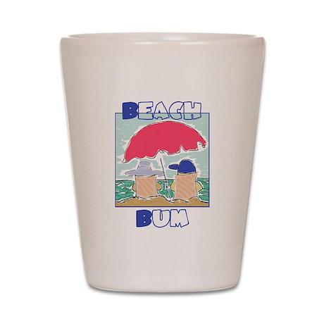 Beach Bum Shot Glass