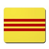 South vietnam flag Mouse Pads