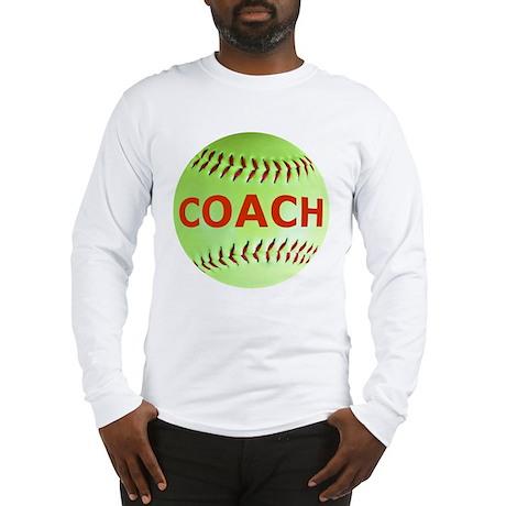 Softball Coach Long Sleeve T-Shirt