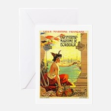 France Travel Poster 3 Greeting Card