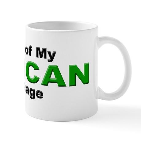 Proud African Heritage Mug