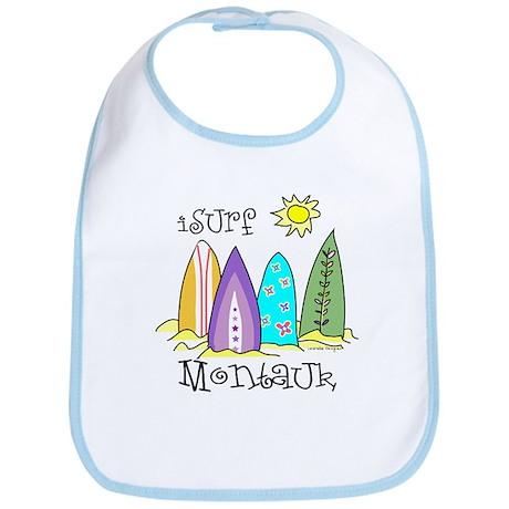 I Surf Montauk Bib