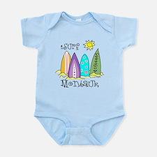 I Surf Montauk Infant Bodysuit