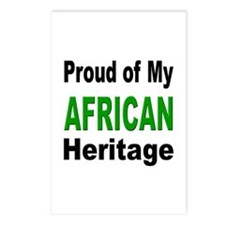 Proud African Heritage Postcards (Package of 8)