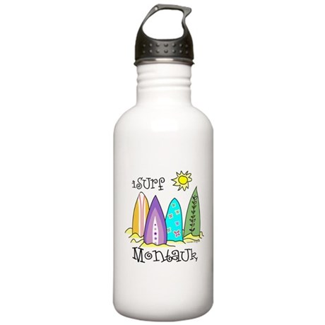 I Surf Montauk Stainless Water Bottle 1.0L