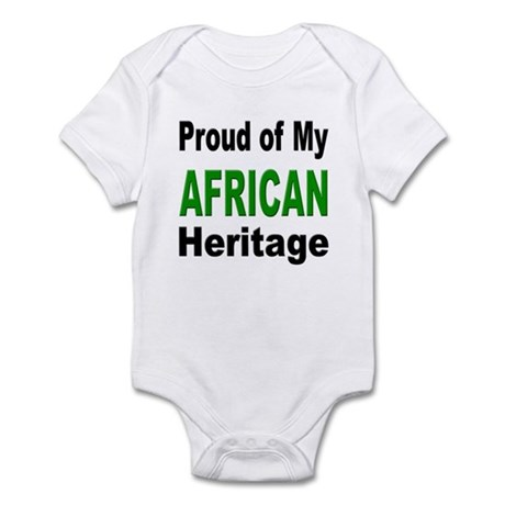 Proud African Heritage Infant Creeper