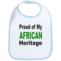 Proud African Heritage Bib